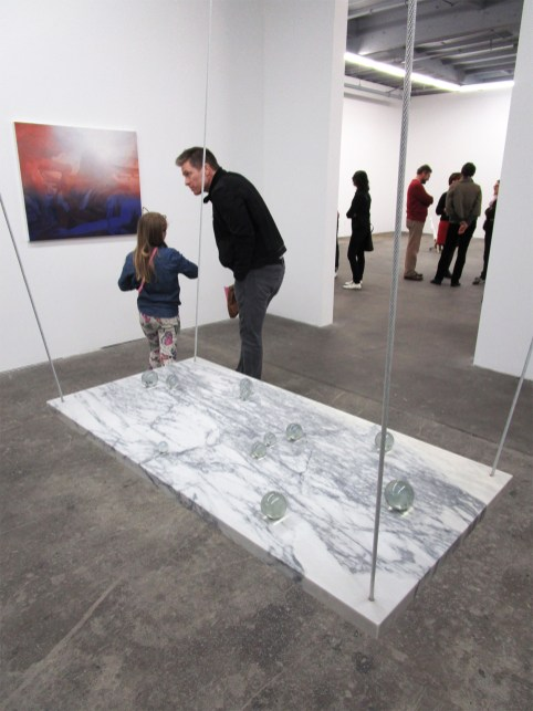 Noa Kaplan, Eleven Marbles. By The River at ACME Gallery. Photo Credit Patrick Quinn.
