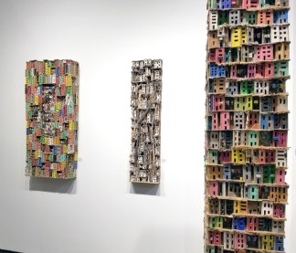 Eric Cremers. Palm Springs Art Fair 2017, February 16-18, 2017 at the Palm Springs Convention Center. Photo Credit Kristine Schomaker.