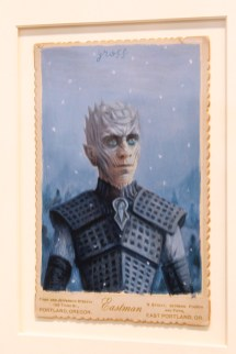 Alex Gross, Night King, Corey Helford Gallery Photo credit- JulieFaith ©2017, All rights reserved.