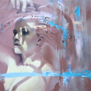 Meredith Marsone, Let Me See, Corey Helford Gallery Photo credit- JulieFaith ©2017, All rights reserved.