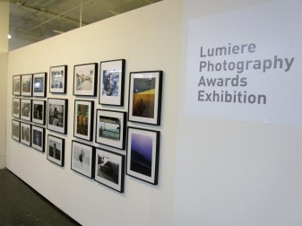 Lumiere Photography Awards Exhibit. LA Festival of Photography. Fabrik Expo. Photo Credit Patrick Quinn.