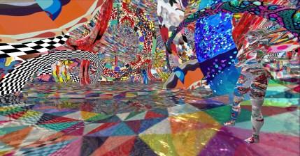 Kristine Schomaker, Bloom. M.A.R.S. (Music & Arts ReSound) Arts Week. Artshare LA and Angel City Brewery. Photos Courtesy of MARS Festival
