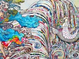 Takashi Murakami. The Broad. Photo Credit Kristine Schomaker