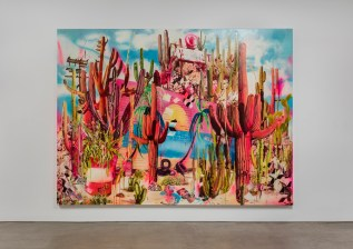 Rosson Crow. The Happiest People on Earth. Honor Fraser Gallery. Photo Credit Brian Forrest. Courtesy of Honor Fraser Gallery.