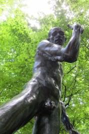 Rodin/Kiefer; Musée Rodin, Paris. Photo Credit Gary Brewer.