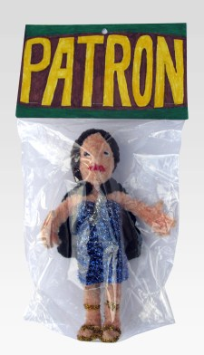 "Patron pipe cleaners 13"" x 7"" x 3"" 2009. Don Procella. Everything Must Go. Noysky Projects. Photo Courtesy of Noysky Projects."