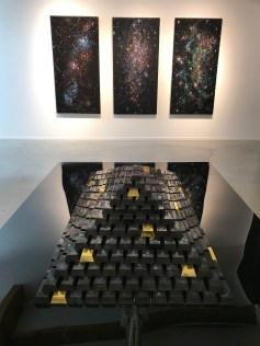 Kysa Johnson-As Above, So Below at Von Lintel Gallery. Photo Credit Sara Fortson.