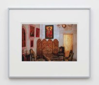 """William E. Jones """"Villa Iolas (Byzantine Icons, Gold Door),"""" 1982/2017 hand-coated inkjet print 16 x 20 inches (40.6 x 50.8 cm) framed: 20 x 24 x 1 1/2 inches (50.8 x 61 x 3.8 cm) Edition of 6 with 2 AP Photography: Lee Thompson Courtesy of David Kordansky Gallery, Los Angeles, CA and The Modern Institute, Glasgow, Scotland"""