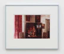"""William E. Jones """"Villa Iolas (Byzantine Icons),"""" 1982/2017 hand-coated inkjet print 16 x 20 inches (40.6 x 50.8 cm) framed: 20 x 24 x 1 1/4 inches (50.8 x 61 x 3.2 cm) Edition of 6 with 2 AP Photography: Lee Thompson Courtesy of David Kordansky Gallery, Los Angeles, CA and The Modern Institute, Glasgow, Scotland"""