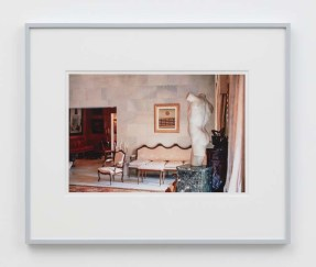 """William E. Jones """"Villa Iolas (Max Ernst, Greek Torso),"""" 1982/2017 hand-coated inkjet print 16 x 20 inches (40.6 x 50.8 cm) framed: 20 x 24 x 1 1/2 inches (50.8 x 61 x 3.8 cm) Edition of 6 with 2 AP Photography: Lee Thompson Courtesy of David Kordansky Gallery, Los Angeles, CA and The Modern Institute, Glasgow, Scotland"""
