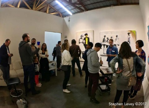 Keystone Open Studio - Fall 2017. Photo Credit Stephen Levey