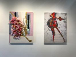 Diasporagasm at SBC SoLA Gallery. Photo Credit Genie Davis.