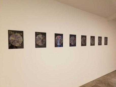 Jody Zellen. ELEMENTAL | Marking Time. Descanso Gardens, Sturt Haaga Gallery. Photo Credit Kristine Schomaker