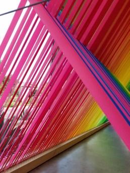 Megan Geckler. ELEMENTAL | Marking Time. Descanso Gardens, Sturt Haaga Gallery. Photo Credit Kristine Schomaker