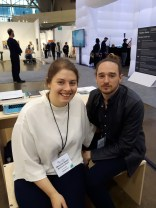 Moskowitz Bayse. Meredith Bayse and Adam Mosokwitz. Art Toronto 2017. Photo Credit Marianne Lepa