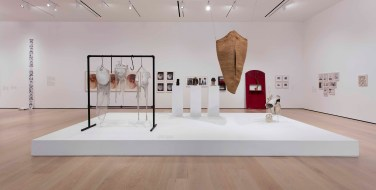 "Radical Women: Latin American Art, 1960-1985, installation view, ""Mapping the Body"" theme. Hammer Museum, Los Angeles, September 15 - December 31, 2017. Photo: Brian Forrest."