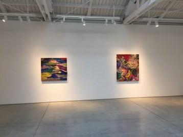 Channing Hansen at Marc Selwyn Fine Art. Photo Credit: Lorraine Heitzman.