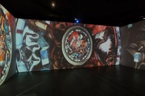 Jose Clemente Orozco. LA Art Show 2018. LA Convention Center. Photo Credit Jack Burke