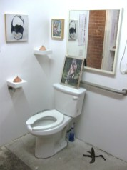 The Curated Loo; Photo by Patrick Quinn