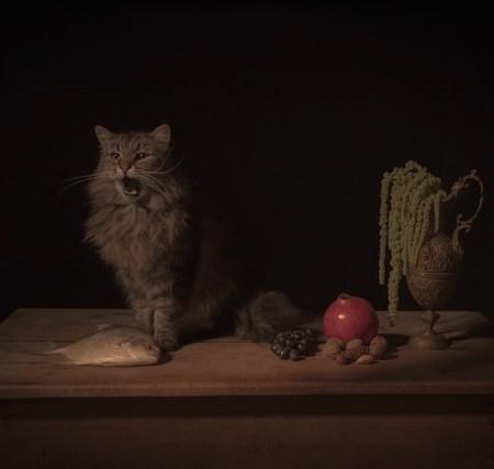 "Tami Bahat, ""Feline"", Revising Humanity: Secrets and Lifetimes, Building Bridges Art Exchange; Image courtesy of the artist"