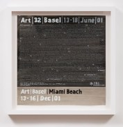 Art Basel Miami Beach (2001), William Powhida, After 'After the Contemporary'; Image courtesy of Charlie James Gallery