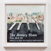 The Armory Show (2013), William Powhida, After 'After the Contemporary'; Image courtesy of Charlie James Gallery
