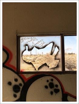 "Richard Misrach, ""Broken homes & shattered lives"", Hinkley, California, January, 2018, Marc Selwyn Fine Art; Image courtesy of the gallery"