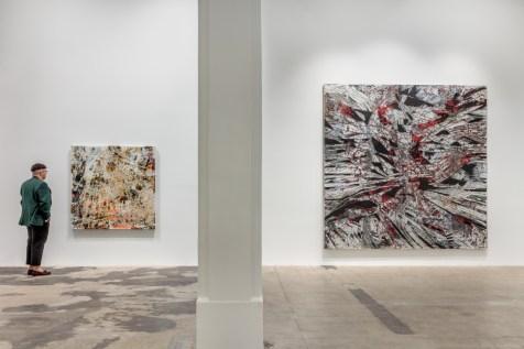 "Mark Bradford, ""Mark Bradford. New Works"", Hauser & Wirth Los Angeles; Photo credit Joshua White"