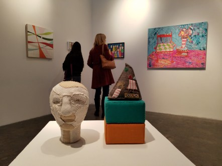 Samuelle Richardson, Art Speaks, Lend a Voice, Arena 1 Gallery; Photo Credit Kristine Schomaker