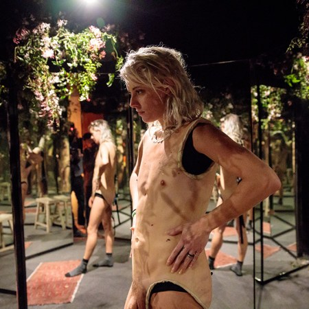 Sarah Sitkin, Bodysuits, Superchief Gallery LA; Photo courtesy of the gallery