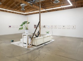 """Nicole Eisenman """"Dark Light,"""" Installation view, Susanne Vielmetter, Photo credit: Robert Wedemeyer"""