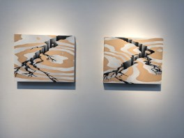 Kelly Berg, Unknown Horizon at Craig Krull Gallery. Photo Credit: Jody Zellen.