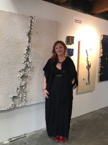 Randi Hokett. Brewery Artwalk. Spring 2018. Photo Credit Genie Davis