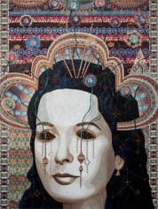 Asad Faulwell, Les Femmes d'Alger #VI at DENK Gallery. Photo courtesy of the gallery