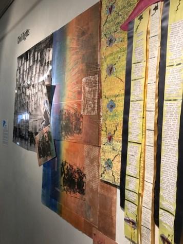 Jewish Artists Initiative'sJerusalem Biennale 2017 Exhibition, Flashpointsat MuzeuMM Gallery. Photo credit: Genie Davis.