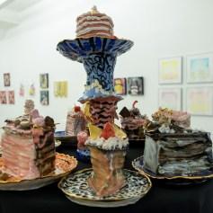Lena Wolek. PØST: Kamikaze - Let Me Eat Cake. Photo credit Debe Arlook