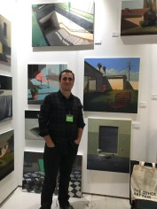 Alex selkowitz at The Other Art Fair, Santa Monica. Photo credit: Genie Davis.