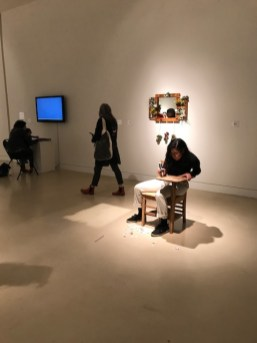 Performance, Forum 1 at Torrance Art Museum. Photo credit: Genie Davis.