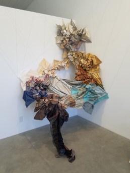 Debbie Carlson, to-gather, Flux Art Space; Photo credit Jaqueline Bell Johnson