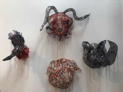 Gwen Samuels, Animal_Heads; Photo credit: House of Wren