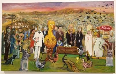John Kilduff, Blinky the Friendly Hen, CSUN Art Gallery; Photo Credit: Kristine Schomaker
