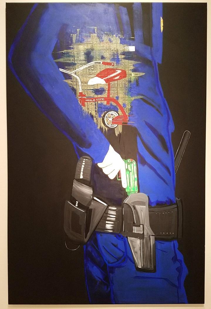 Forrest Kirk. Protest, Noun; Torrance Art Museum; Photo credit Kristine Schomaker