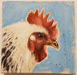 Lisa Adams, Blinky the Friendly Hen, CSUN Art Gallery; Photo Credit: Kristine Schomaker