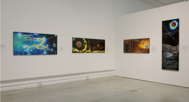 Victor Raphael and Clayton Spada. Stargazers: Intersections of Contemporary Art & Astronomy, Orange Coast College, Frank M. Doyle Arts Pavilion; Images courtesy of the gallery