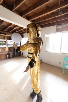 Susanna Della Sala, A Fish Grows Legs in its Dreams and Sleepwalks, Bombay Beach Biennale; Photo credit Jack Burke