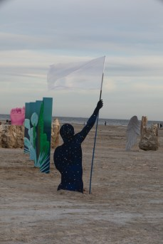 Bombay Beach Biennale; Photo credit Jack Burke
