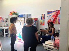 Claremont Graduate University MFA Open Studios. Jessica Csanky. Photo credit: Chelsea Boxwell.