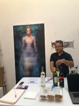 Claremont Graduate University MFA Open Studios. Manny Llanura. Photo credit: Chelsea Boxwell.