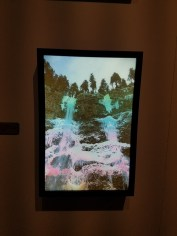 Allison Bagg, Multnomah Falls on acid, Studio MOMÉ; Photo credit Jenny Begun