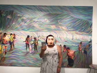 Karen Hochman Brown, Anonymous@theBeach, TAG Gallery; Image courtesy of the artist
